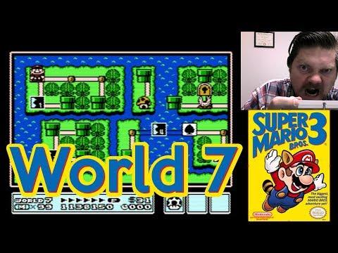 Super Mario Bros. 3, World 7 | VGHI Play 'n' Chat Live Stream
