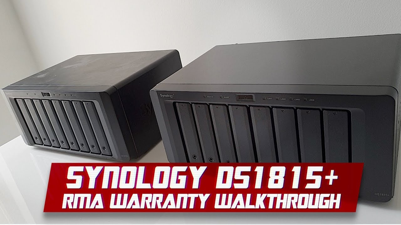 Synology NAS 24TB System Failure | Warranty Replacement Guide for DS1815+