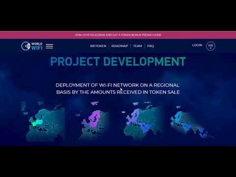 WorldWiFi [WT]- Future Is Wireless (ICO REVIEW)
