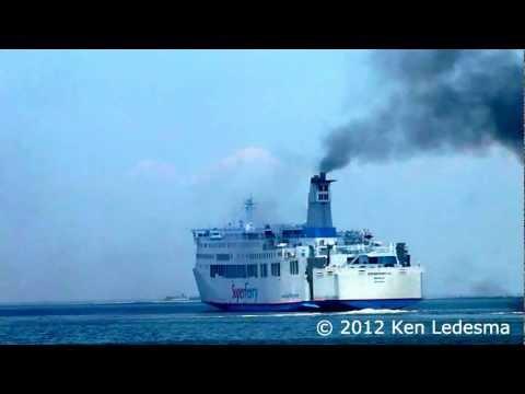 2GO Travel - M/V SuperFerry 21 Departing Manila (again)