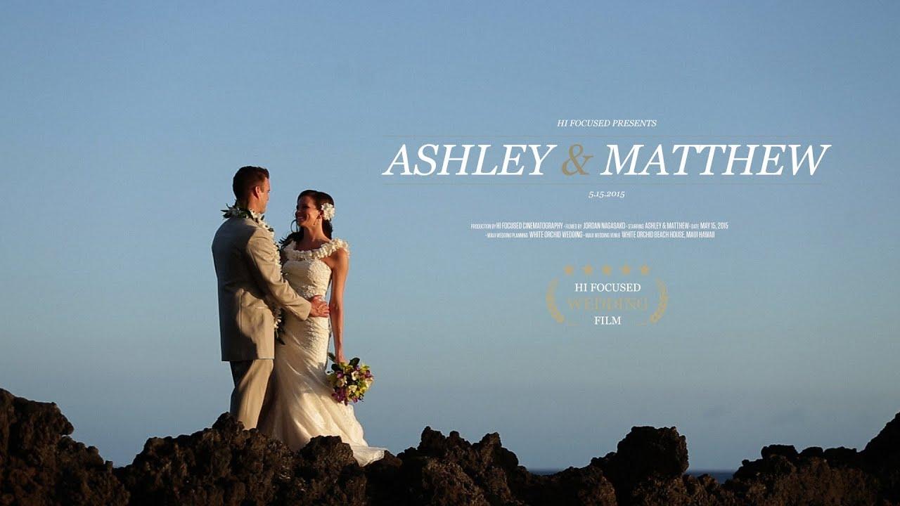 White Orchid Wedding Beach House Maui Film