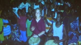 Dr. Janice Haworth African Drum Notation - Lakeland News at Ten - September 14, 2011.m4v