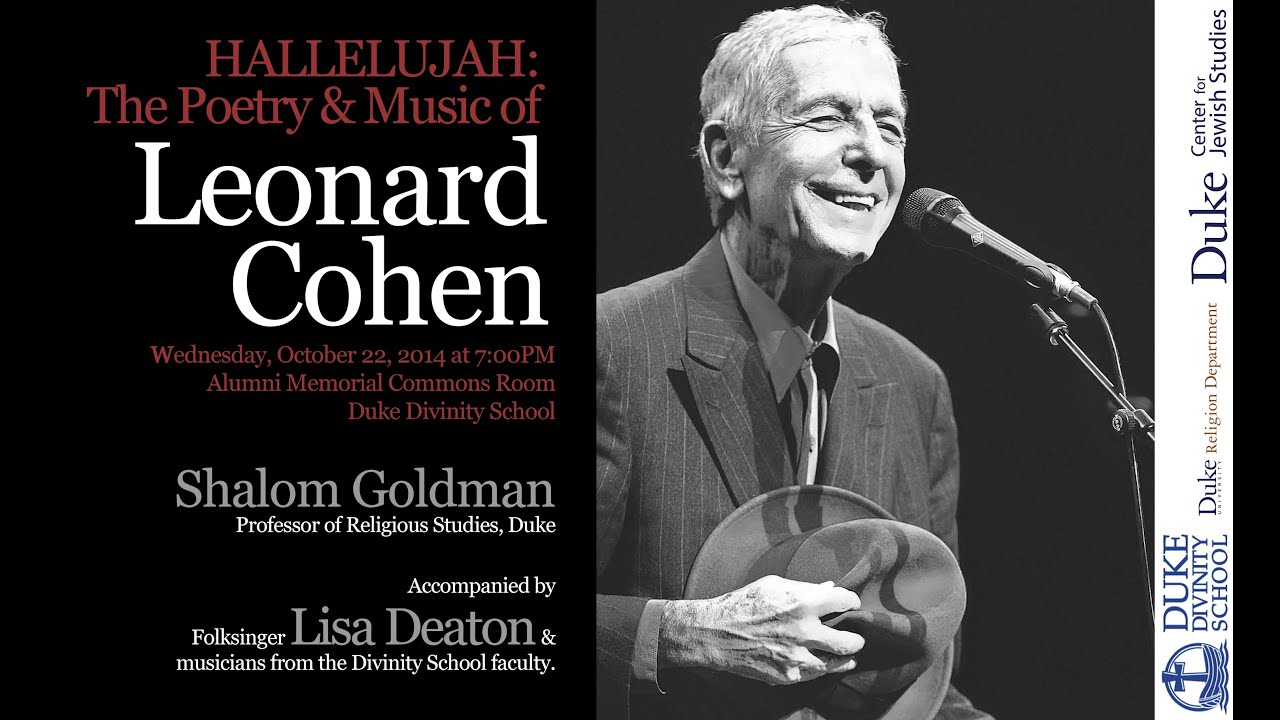 Hallelujah the poetry and music of leonard cohen youtube for Leonard cohen music videos