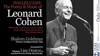 Hallelujah: The Poetry and Music of Leonard Cohen