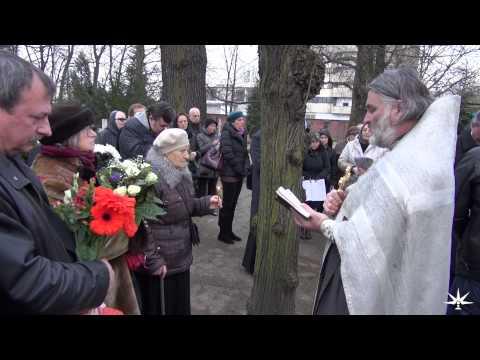 Отпевание и погребение Юлии Вознесенской в Берлине 22.02.2015