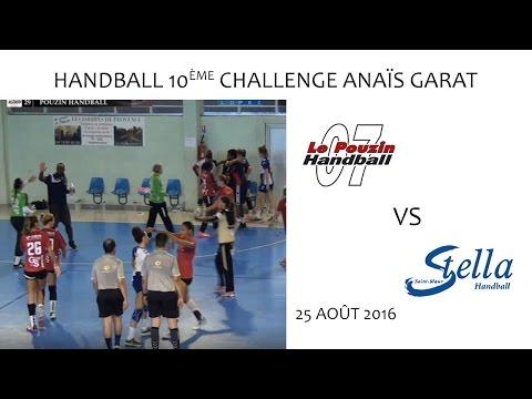 Handball - 10ème Challenge Anaïs Garat - LE POUZIN vs STELLA