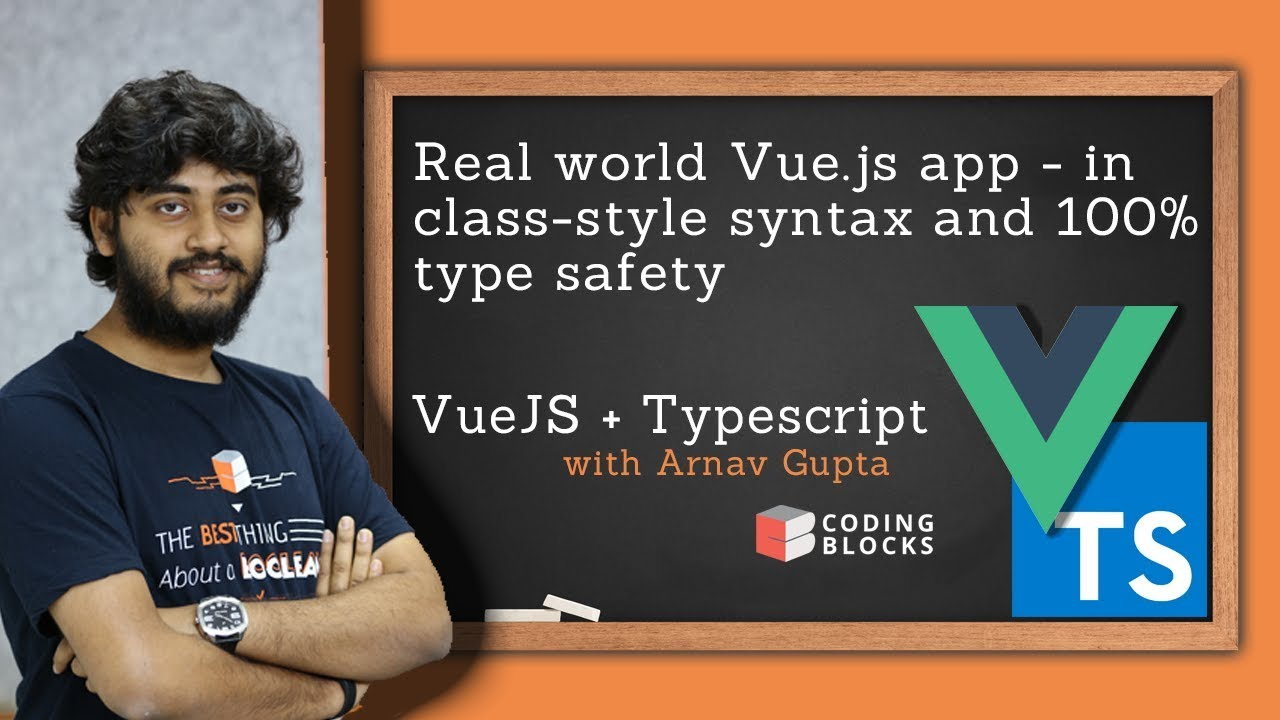 Realworld app - VueJS and Typescript - Part 1 : Introduction and Vue CLI  Setup