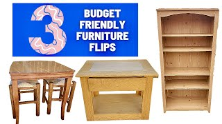 3 Furniture Flips   Outdated Furniture Gets New Updated Style   Budget Friendly