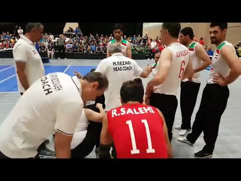 Barry Couzner: Theatres of Dreams – The 2018 Sitting Volleyball