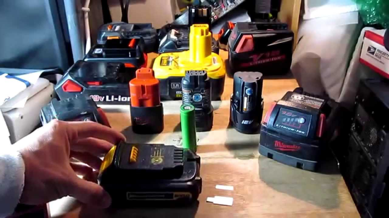 Diy Charge Any Cordless Tool Drill Battery Without A