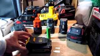 DIY Charge any cordless tool/drill battery without a charger using Turnigy balance charger