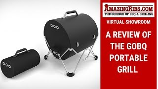The GoBQ Portable Grill Review - Part 1 Virtual Showroom