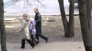 Путин и Кабаева идут домой 16 04 2011