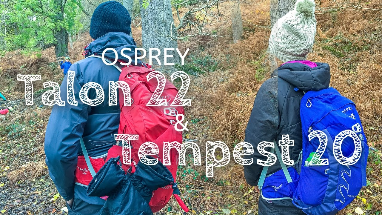 A quick look at the new Osprey Talon 22 and Tempest 20 day sacks ... 7b7ed11b6258c