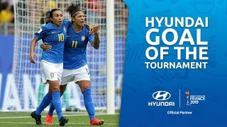 CRISTIANE – HYUNDAI GOAL OF THE TOURNAMENT – WINNER