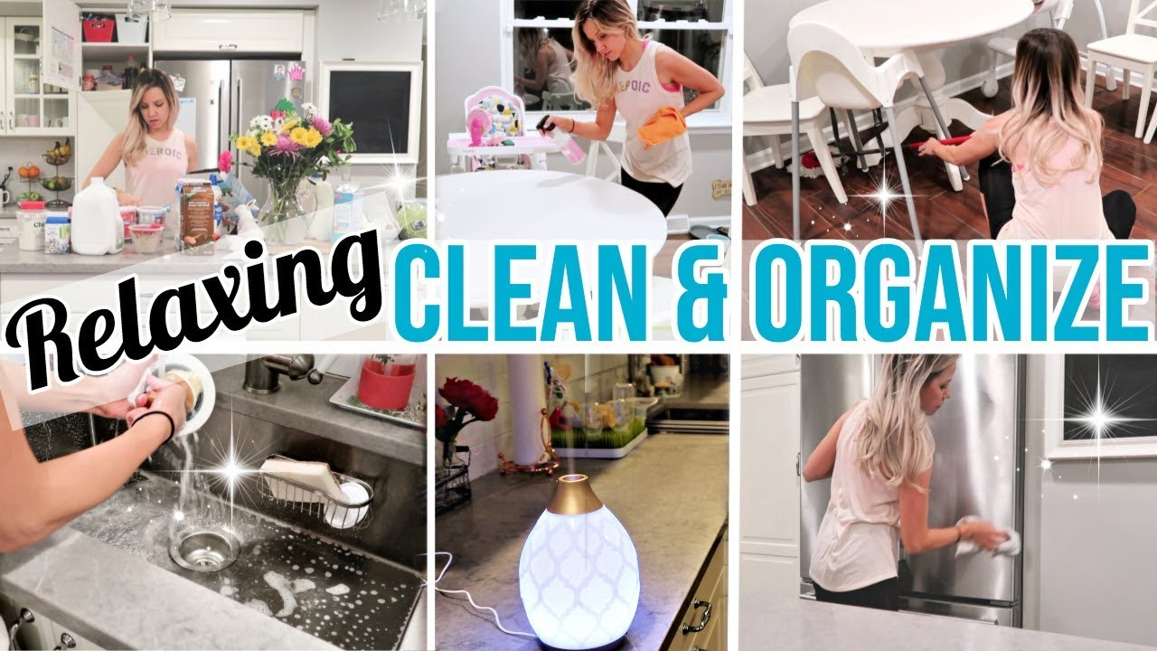 Clean With Me 2019 Relaxing Clean Organize And Declutter With Me