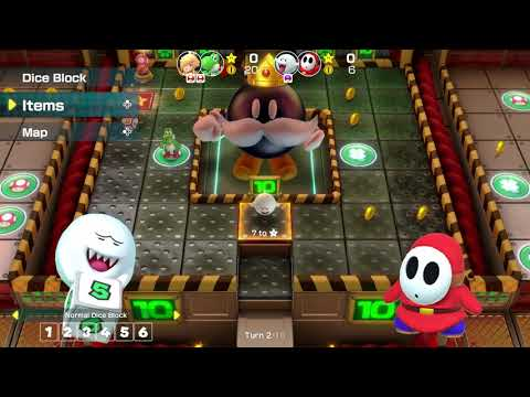 Nintendo Treehouse Live - E3 2018 - First Super Mario Party footage #2