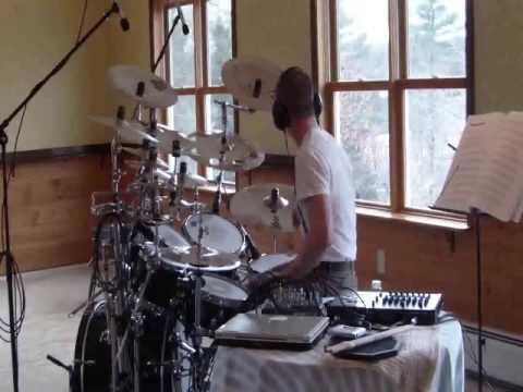 Andy Talbert on Drums progressive metal drum solo video crazy amazing