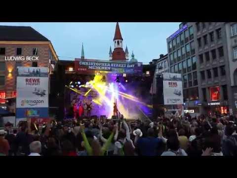 CSD München 2018: Finale auf dem Marienplatz mit Ecco DiLorenzo and his Innersoul