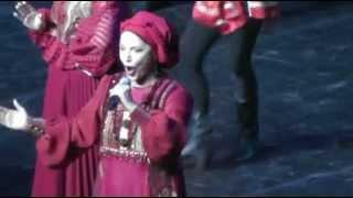 Надежда Бабкина запела по-татарски