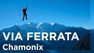 La Via des Evettes via ferrata Aiguilles Rouges Chamonix Mont-Blanc escalade - 11383