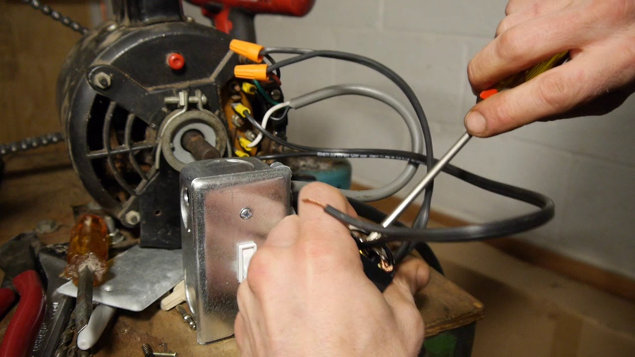 small resolution of wiring in a reverse switch on an ac induction motor for the new animodule 13 lathe