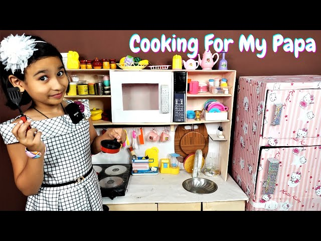 Cooking game in Hindi Part-32 / Cooking for my Papa  | #LearnWithPari