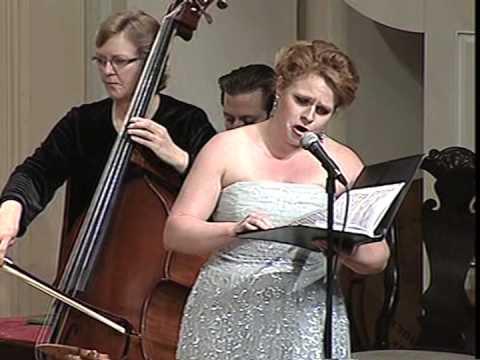 """The Praise Of God"" From Haydn Creation - No. 4. Elizabeth Claxton, Soprano."