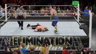 WWE 2K15 Gameplay (PC HD) [1080p]