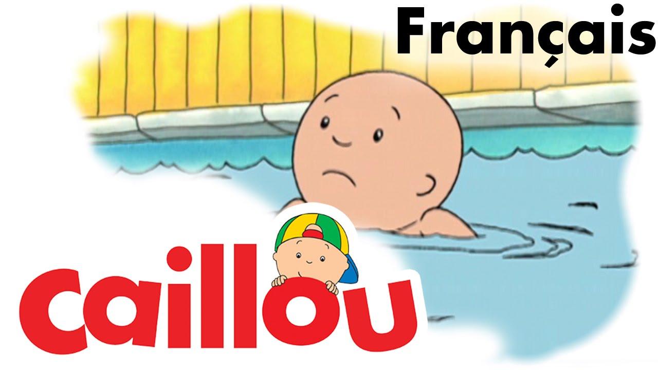 Caillou fran ais caillou apprend nager s01e35 conte pour enfant caillou en fran ais - Dessin caillou ...