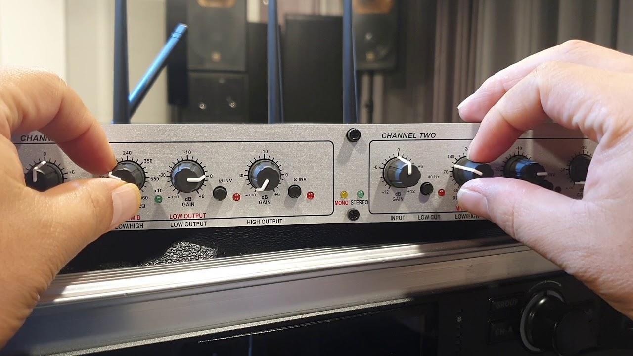 [음향강의] 11. 서브우퍼스피커 크로스오버 설정하기