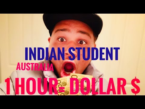 Part Time Job In Australia 🇦🇺 1 Hour = $ Dollar 💵 Indian Student 👨🎓