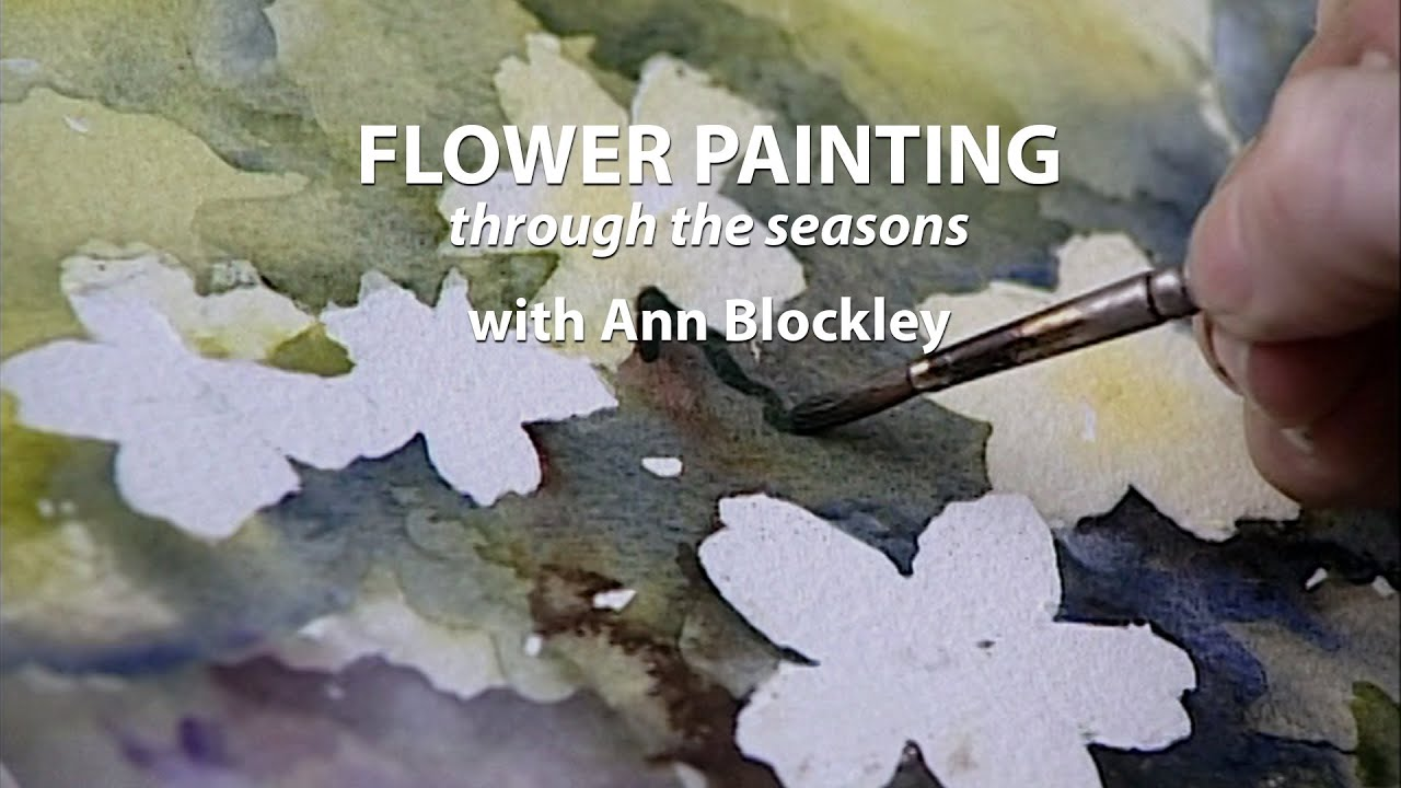 Flower Painting Through the Seasons with Ann Blockley