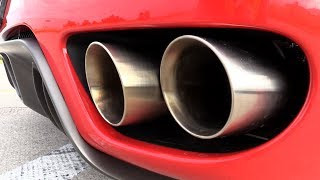 Ferrari F430 F1 w/ LOUD HMS Performance Exhaust System!