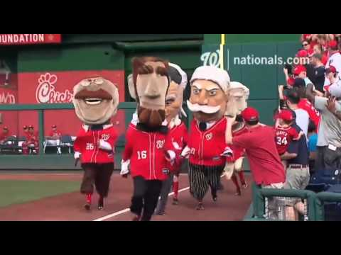 The Washington Nationals Have  is listed (or ranked) 4 on the list The Best Team and Ballpark Traditions in the MLB