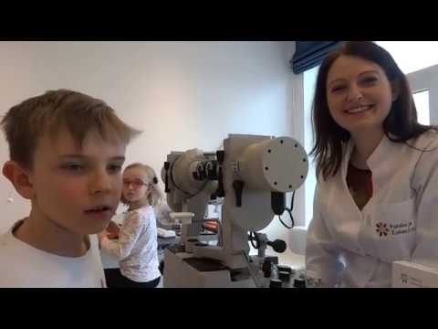 BINOCULAR VISION EXAMINATION ON SYNOPTOPHORE | Children