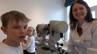 BINOCULAR VISION EXAMINATION ON SYNOPTOPHORE | Children's Eye Center in Warsaw