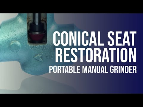 Grinding And Lapping Tool | Conic Valve Seat Restoring