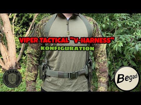 "Viper Tactical ""V-Harness"" Konfiguration Review deutsch/german"