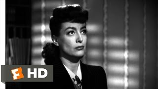 Mildred Pierce (7/10) Movie CLIP - Stay Away From Veda (1945) HD