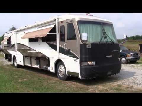 1999 Fleetwood American Dream Luxury Class A Diesel Pusher Motorhome Walk-around Video