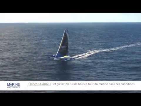 [VOILE] Survol du trimaran MACIF de François Gabart