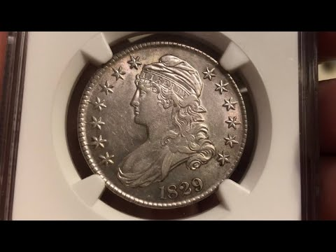 Classic Coins: 1829 Capped Bust Half Dollar NGC XF40