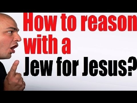 HOW TO REASON WITH MESSIANIC JEWS FOR JESUS (Reply2 one for israel maoz jewish voice меби askdrbrown