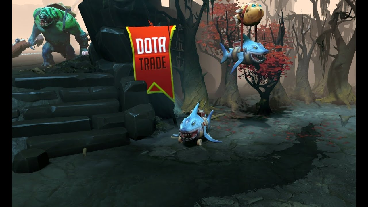 hexgill the lane shark courier preview dota 2 youtube