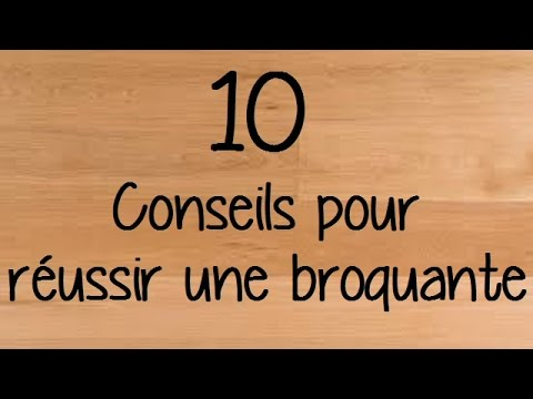 10 conseils pour r ussir une brocante youtube. Black Bedroom Furniture Sets. Home Design Ideas