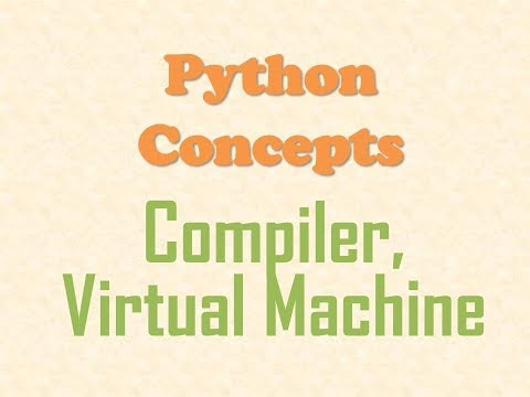 Python Concepts - What is a Python Compiler and Python Virtual Machine?