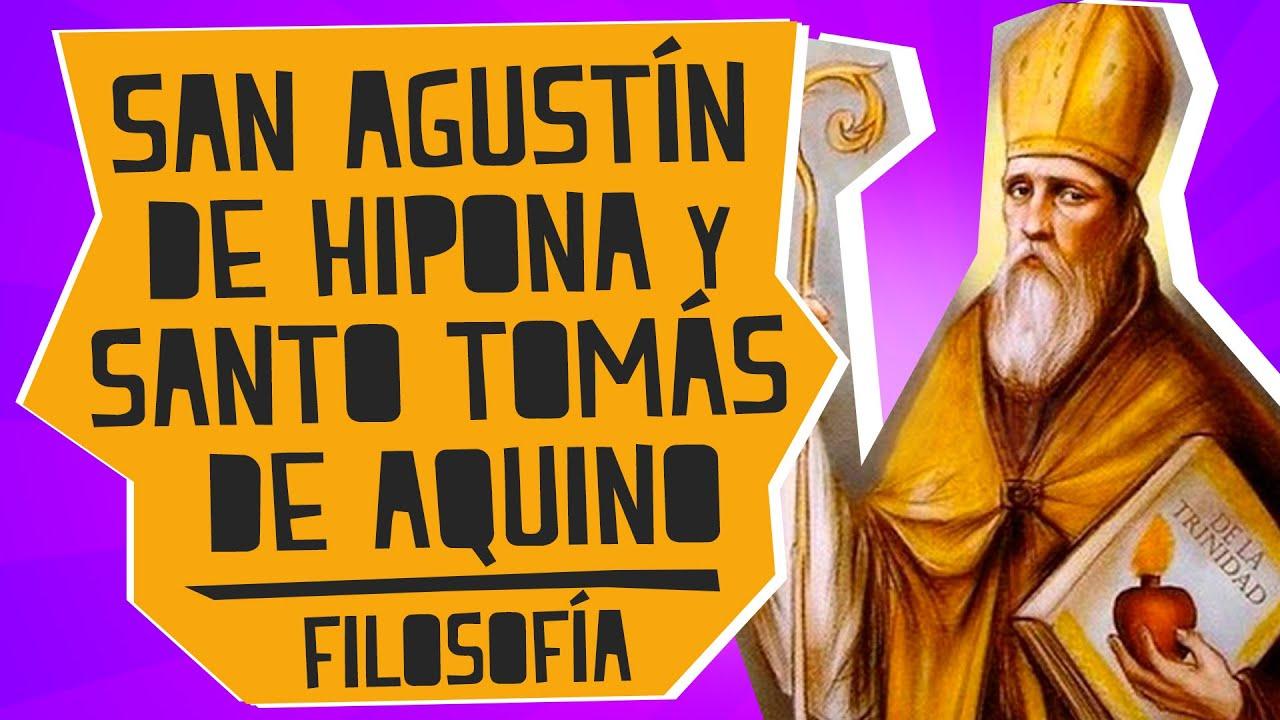 San Agustín De Hipona Y Santo Tomás De Aquino Filosofía