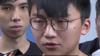 香港众志记者会
