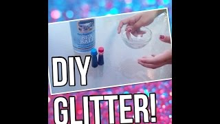 Download DIY How To Make Glitter! MP3 song and Music Video